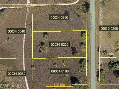 1815 Fitch Ave, Lehigh Acres, FL 33972 - MLS#: 218009969