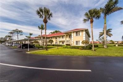 4516 Andover Way UNIT J 105, Naples, FL 34112 - MLS#: 218014599