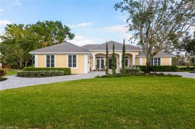 12902 Bald Cypress Ln, Naples, FL 34119 - MLS#: 218018792