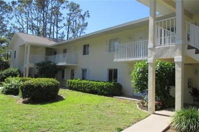 250 Timber Lake Cir UNIT E103, Naples, FL 34104 - MLS#: 218022159