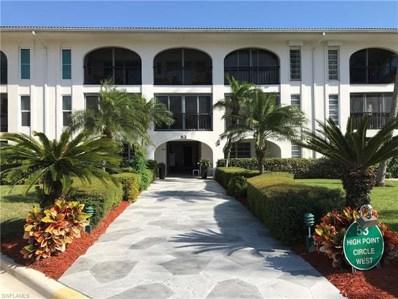 53 High Point Cir W UNIT 211, Naples, FL 34103 - MLS#: 218024255