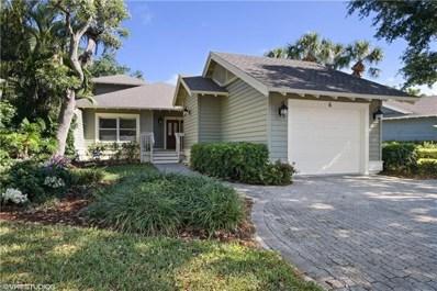 6 Golf Cottage Dr, Naples, FL 34105 - MLS#: 218024683