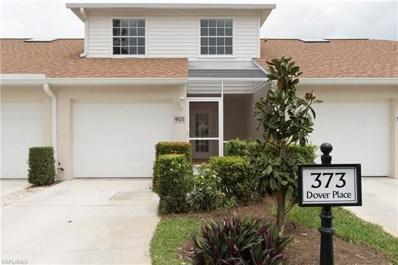 373 Dover Pl UNIT 9-903, Naples, FL 34104 - MLS#: 218025844