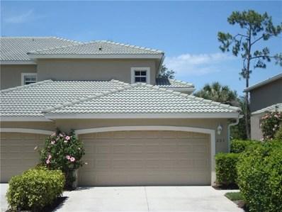 3555 Laurel Greens Ln N UNIT 203, Naples, FL 34119 - MLS#: 218030503