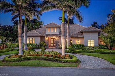 727 Fountainhead Ln, Naples, FL 34103 - MLS#: 218031509
