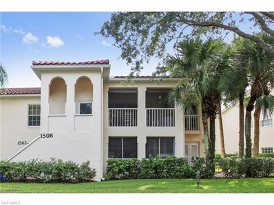 106 Siena Way UNIT 1502, Naples, FL 34119 - MLS#: 218035308