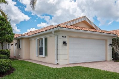 5378 Guadeloupe Way, Naples, FL 34119 - MLS#: 218035790