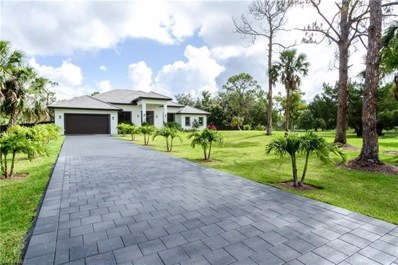 1961 20th Ave NE, Naples, FL 34120 - MLS#: 218039208