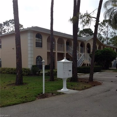 709 Augusta Blvd UNIT 709-8, Naples, FL 34113 - MLS#: 218039279