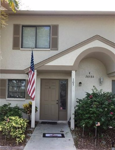 26586 Southern Pines Dr UNIT 105, Bonita Springs, FL 34135 - MLS#: 218047965