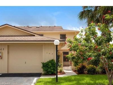 163 Forest Lakes Blvd W UNIT 107, Naples, FL 34105 - MLS#: 218050631
