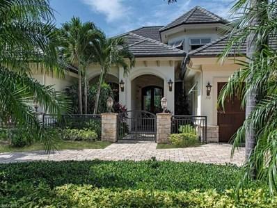750 Riviera Dr, Naples, FL 34103 - MLS#: 218052306
