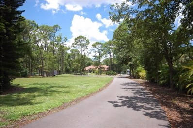 1861 Santa Barbara Blvd, Naples, FL 34116 - MLS#: 218052416