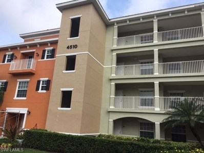 4510 Botanical Place Cir UNIT 306, Naples, FL 34112 - MLS#: 218064723
