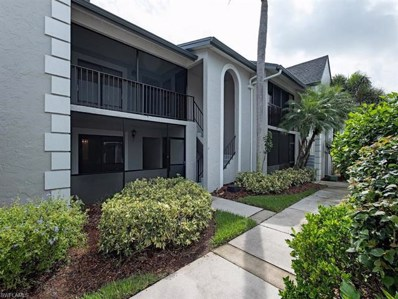 500 Veranda Way UNIT A105, Naples, FL 34104 - MLS#: 218066909