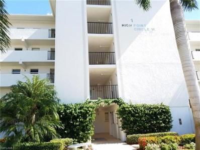 1 High Point Cir W UNIT 104, Naples, FL 34103 - MLS#: 218072542