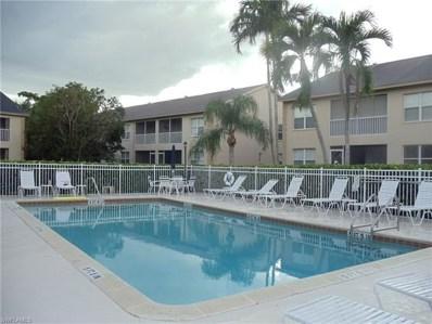 328 Bradstrom Cir UNIT E102, Naples, FL 34113 - MLS#: 218074034