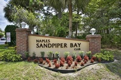 3012 Sandpiper Bay Cir UNIT D301, Naples, FL 34112 - MLS#: 218079633