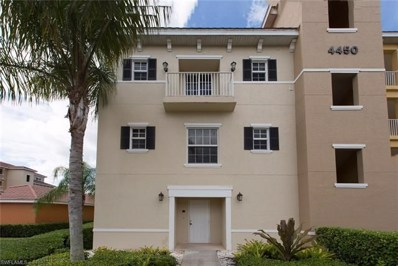4450 Botanical Place Cir UNIT 301, Naples, FL 34112 - MLS#: 218082821