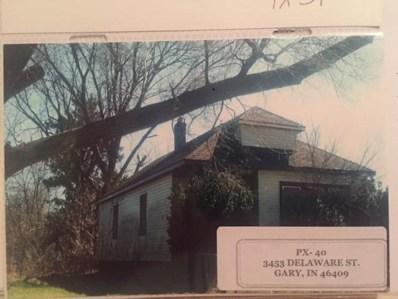 3453 Delaware Street, Gary, IN 46409 - #: 441707