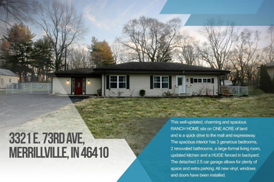3321 E 73rd Avenue, Merrillville, IN 46410 - MLS#: 447681