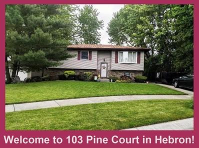 103 Pine Court, Hebron, IN 46341 - MLS#: 456426