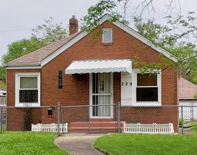 229 Roosevelt Street, Gary, IN 46404 - MLS#: 456523