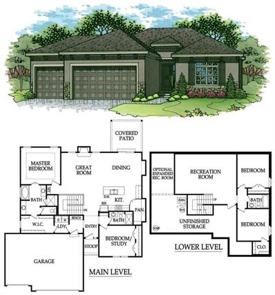 4822 Augusta Drive, Basehor, KS 66007 - MLS#: 2069419
