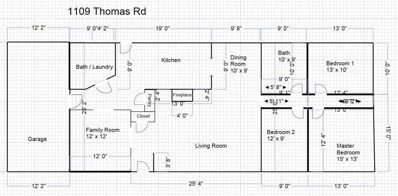 1109 Thomas Road, Pomona, KS 66076 - MLS#: 2142174