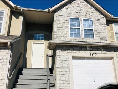 1181 N Martway Drive UNIT 107, Olathe, KS 66061 - MLS#: 2195327