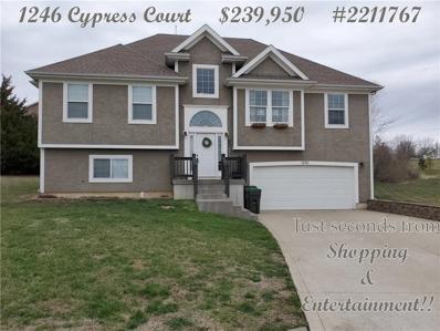 1246 Cypress Court, Warrensburg, MO 64093 - MLS#: 2211767