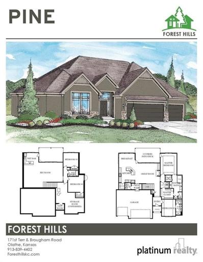 15954 W 171st Terrace, Olathe, KS 66062 - MLS#: 2227028