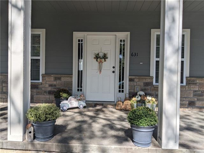631 Valley Hill Drive, Knob Noster, MO 65336 - MLS#: 2322460