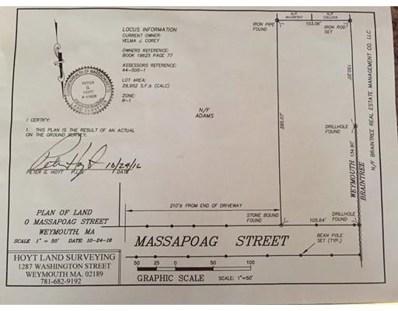 Massapoag St, Weymouth, MA 02190 - MLS#: 72051974