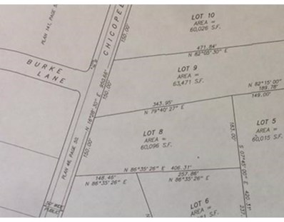 Lot 8 Chicopee St., Granby, MA 01033 - MLS#: 72120246