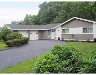 44 Dick Drive, Worcester, MA 01609 - MLS#: 72197259