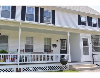 45 D St. UNIT 45, Northbridge, MA 01588 - MLS#: 72197551