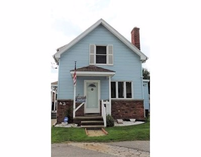43 Pendexter Ave, Chicopee, MA 01013 - MLS#: 72201866