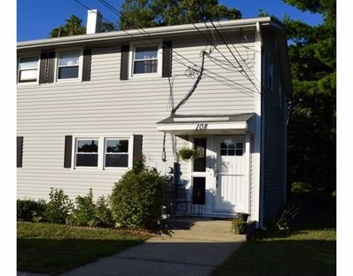 108 Woodbridge Rd UNIT 108, Chicopee, MA 01022 - MLS#: 72218965