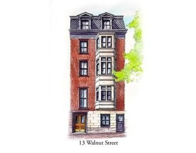 13 Walnut Street UNIT 2, Boston, MA 02108 - MLS#: 72222857