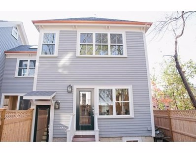 11 Flagg Street UNIT 2, Cambridge, MA 02138 - MLS#: 72254456