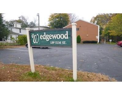 159 Elm St UNIT 4, Southbridge, MA 01550 - MLS#: 72254772