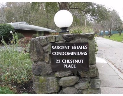 22 Chestnut Place UNIT 106, Brookline, MA 02445 - MLS#: 72257451