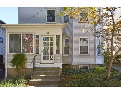 27 Edward T. Sullivan Road UNIT 1, Cambridge, MA 02138 - MLS#: 72259561