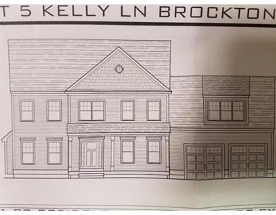 Lot 5 Kelly Lane, Brockton, MA 02301 - MLS#: 72263293