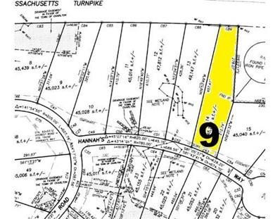 9 Hannahs Way, Charlton, MA 01507 - MLS#: 72270942