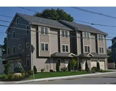 198 Lowell St UNIT 1, Waltham, MA 02453 - MLS#: 72272064