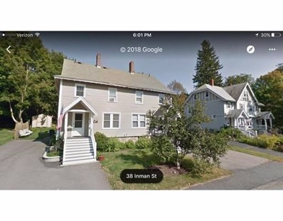 39 Inman Street UNIT 39, Hopedale, MA 01747 - MLS#: 72275776