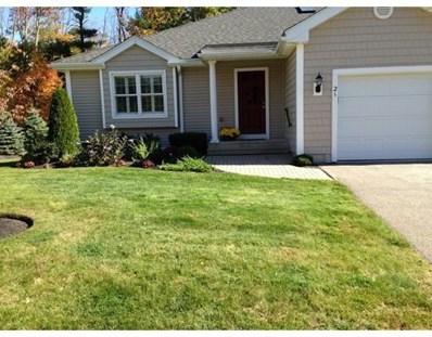 28 Village Road UNIT 0, Paxton, MA 01612 - MLS#: 72277402