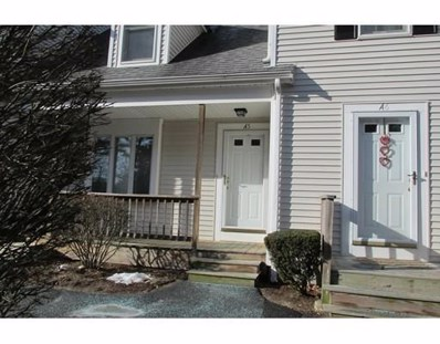 547 Washington Street UNIT A5, Pembroke, MA 02359 - MLS#: 72280198